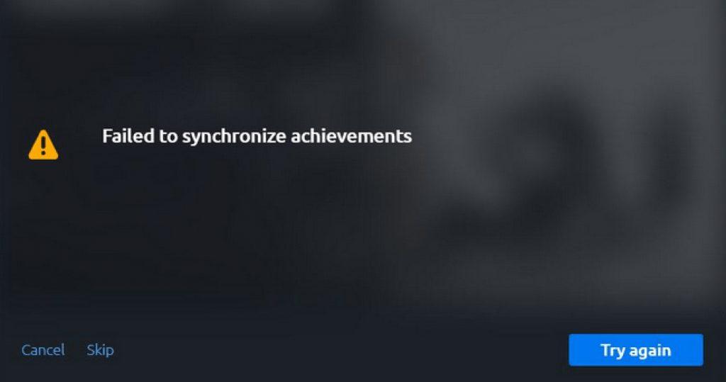 Uplay не синхронизирует достижения